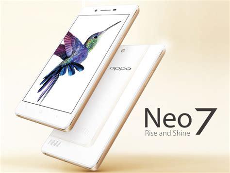 Hp Oppo Terbaru Neo 7 harga oppo neo 7 terbaru spesifikasi lengkap 2016