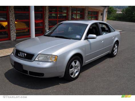 Audi A6 2 7t Quattro by Light Silver Metallic 2001 Audi A6 2 7t Quattro Sedan