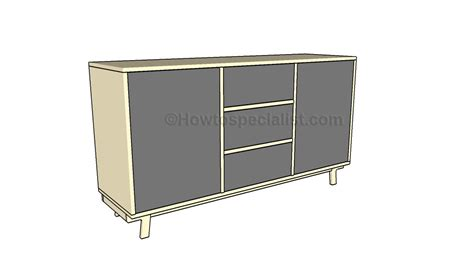 how to build a buffet table buffet table plans howtospecialist how to build