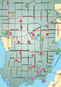 cape coral map florida parks map