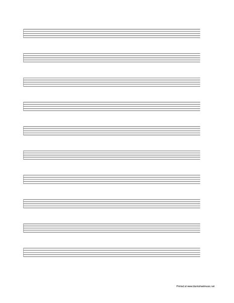 printable lined music paper blank sheet music paper free blank sheet music
