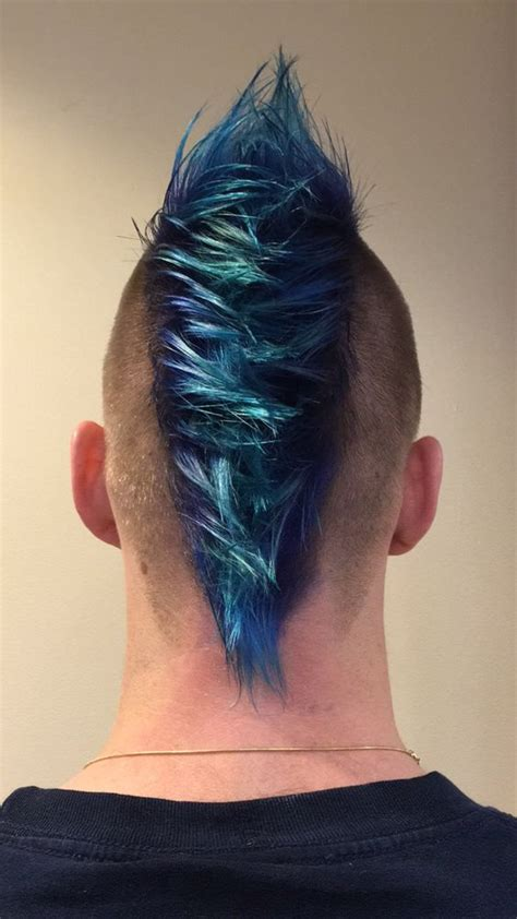 mohawk designs with color mohawk with color hairstyles haircuts for men women