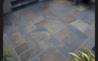 Slate For Patios Slabs by Rustic Copper Slate Paving Slabs Garden Patio Stone