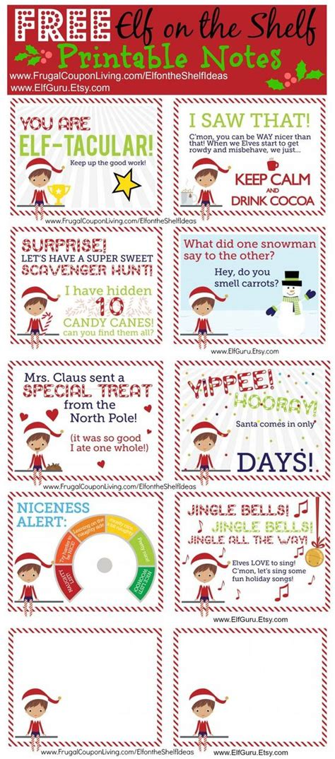 printable elf on the shelf notes elf on the shelf on the shelf and shelf ideas on pinterest