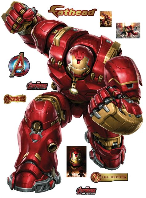Marvel Sticker Book Vs Hulkbuster Soft Cover age of ultron fathead wall decals featuring ultron and vision collider
