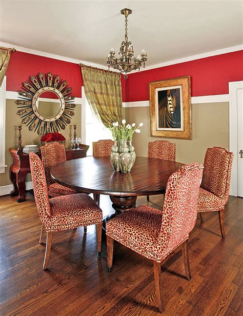 two tone dining room paint how to pull off two toned walls