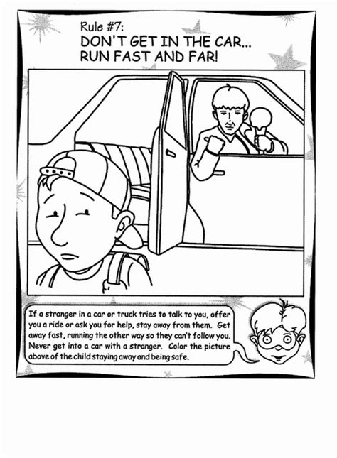 dannger stranger coloring pages pictures to pin on