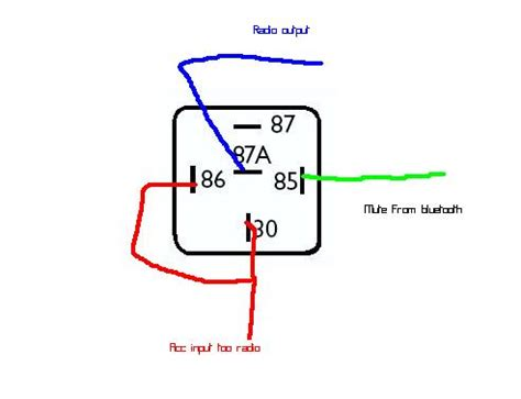 12 volt relay wiring diagram the knownledge