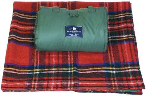 pinic rug waterproof wool tartan picnic rugs blankets