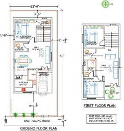 West Facing Independent Floor Plan 200 Sq Yards Land Duplex House Plans For 250 Square Yards