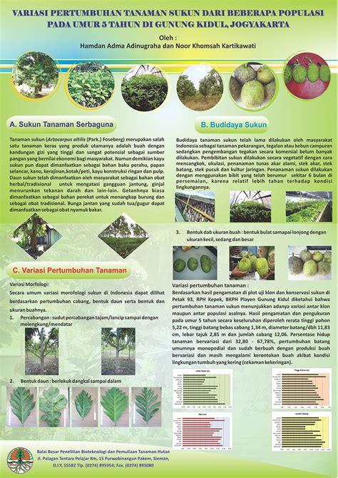 cara membuat poster hasil penelitian poster ilmiah informasi tanaman kehutanan