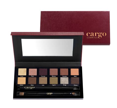 makeup review shades cargo cosmetics 2015 collection venice enchantment eyeshadow