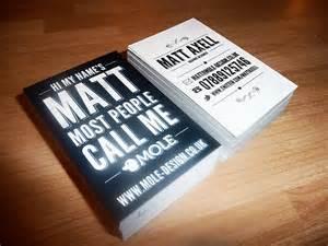 interesting business card unique business card matt axell cardrabbit