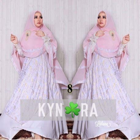 Laluna Syar I laluna 8 baju muslim gamis modern