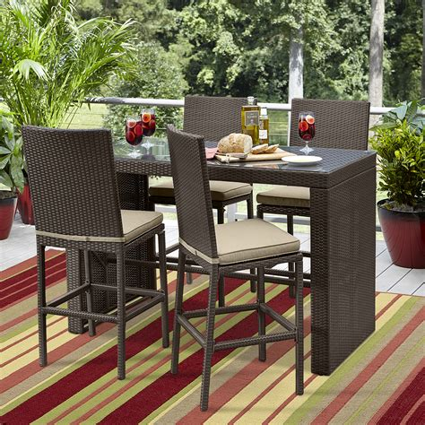 ty pennington parkside 5pc high dining set