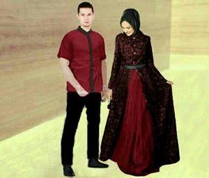 baju koko modern els merah maroon baju gamis dress dan kemeja muslim model