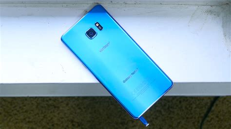 samsung galaxy note 7 coral blue on phonedog