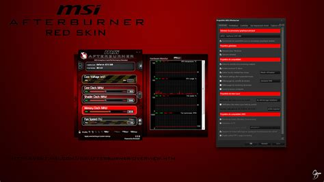 theme windows 10 msi msi afterburner red skin by grum d on deviantart
