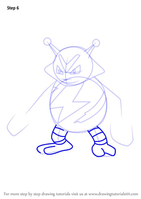 step  step   draw electabuzz  pokemon