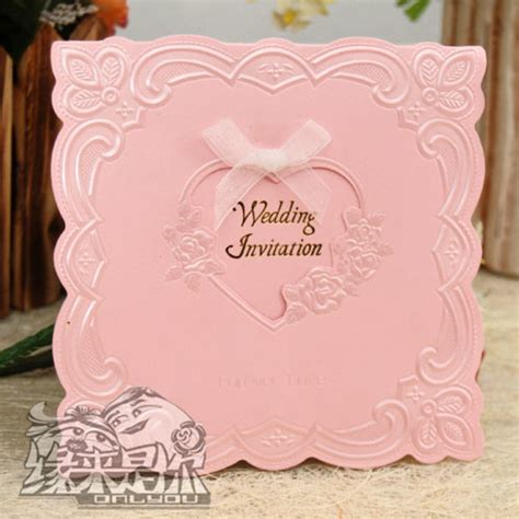 Wedding Invitation Card Taiwan by China Luxury Lace Pearl Wedding Invitation With Ribbon And
