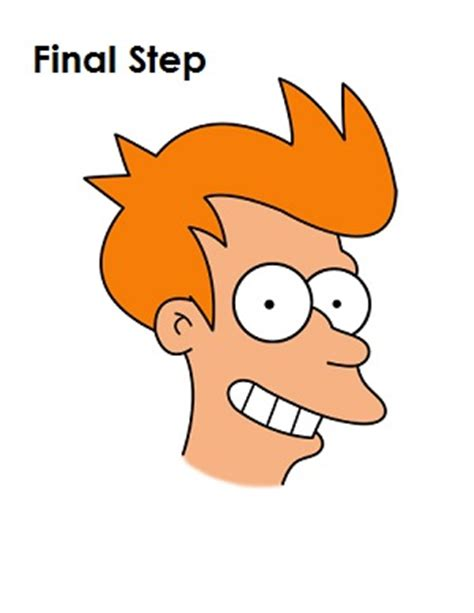 how to do philip j fry hairstyle philip j fry how to hair aprenda a fazer desenho realista