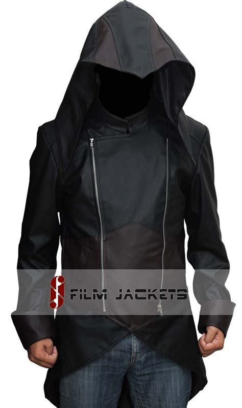 Hoodiesweater Assasin Creed Unity assassin s creed unity jacket in leather arno hoodie jacket