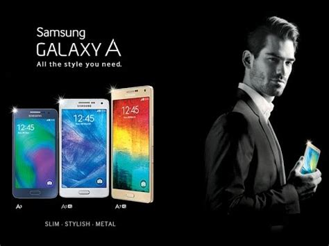 Samsung Galaxy A With samsung galaxy a series 2016 with premium design and