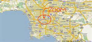 map the location of watts towers by sam rodia california