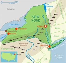 Physical Map Of New York by Gallery For Gt Physical Map Of New York With Physical Features