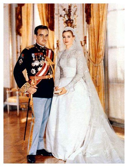 The Wedding Wardrobe by 1956 Grace Wedding Dress Royal Princess