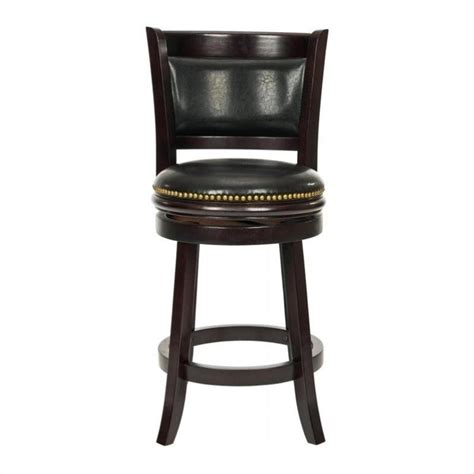 Brown Stools by Safavieh Michael Oak 24 Quot Counter Stool In Brown Fox7001a