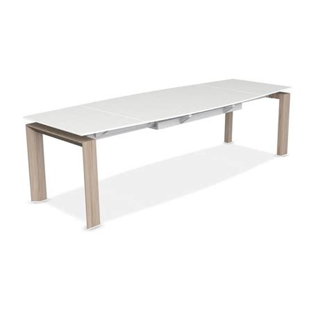 calligaris glass dining table calligaris moving dining table acid etched glass