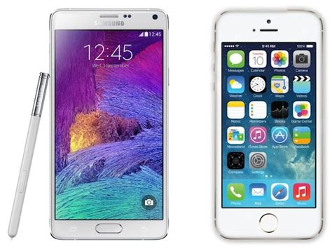 best mobile phone plans galaxy note vs 4 iphone 5s a detailed comparison world apple in