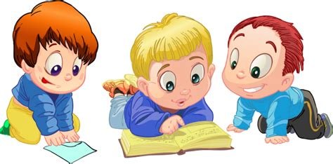 Мальчик за книгой фото