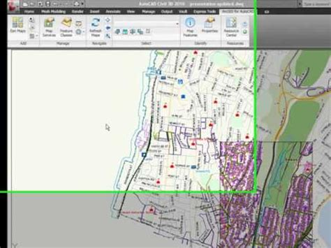 tutorial arcgis for autocad how to use arcgis for autocad viyoutube