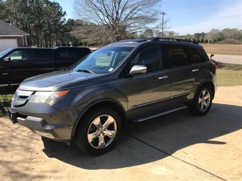 acura gas mileage 2007 acura mdx gas mileage for sale savings from 14 407