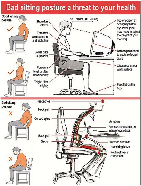 how to keep good posture at a desk proper posture at desk which is the safest way sit a while