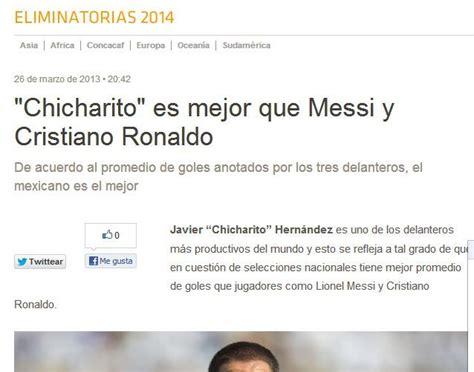 Balagu 233 Quot Ronaldo Es El Mejor Goleador De La Historia   el rostro de messi chicharito y cr7 en cortes de cabello