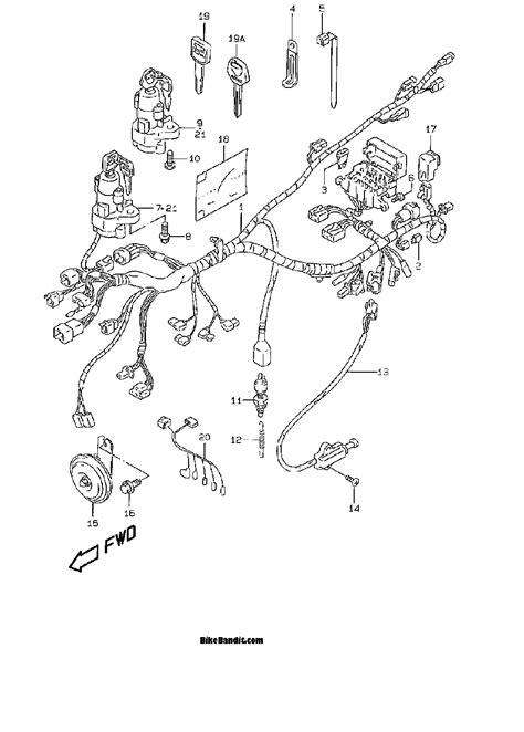 dual headlight wiring diagram suzuki bandit suzuki auto
