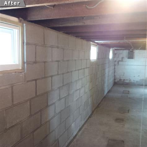 basement wall solutions masonry brick tuckpointing experts st louis mo