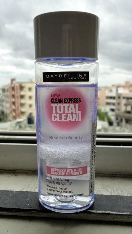 Maybelline Lip Eye Makeup Remover maybelline clean express eye lip makeup remover paperblog