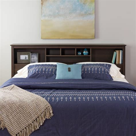 prepac headboard prepac fremont espresso king headboard esh 8445 the home
