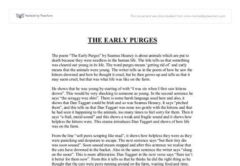 Seamus Heaney Essays by Essay Poetry Of Seamus Heaney