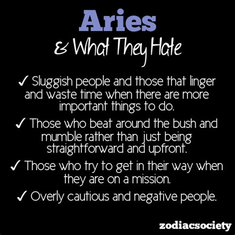 aries negative characteristics aries astrology