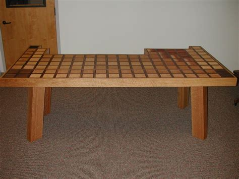 Periodic Table Of Wood by The Periodic Table Table Construction History
