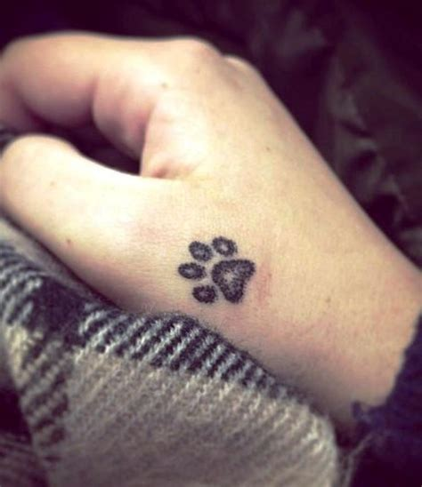 hand print tattoo paw print tattoos on paw tattoos