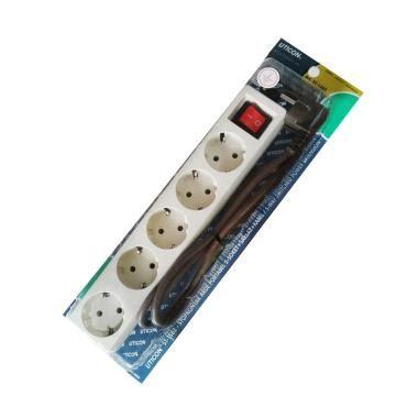 Stop Kontak Uticon 1 Lubang Tanpa Kabel Tanpa Colokan uticon blibli
