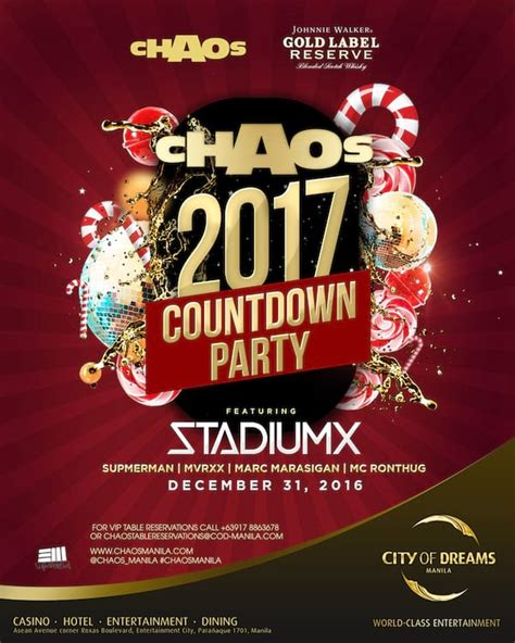 new year celebration eastwood chaos club presents quot candyland quot 2017 countdown