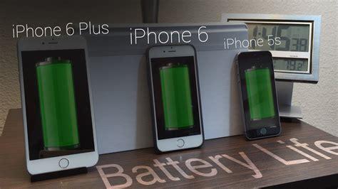 battery iphone 6 vs iphone 6 plus vs iphone 5s