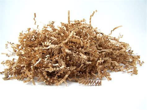 How To Make Shredded Paper - shredded paper 16 oz kraft brown paper shred krinkle paper
